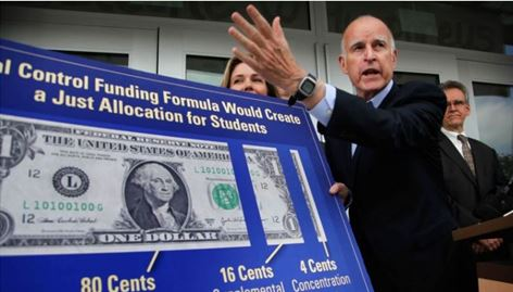 Jerry Brown Explains Local Control Funding Formula Reform