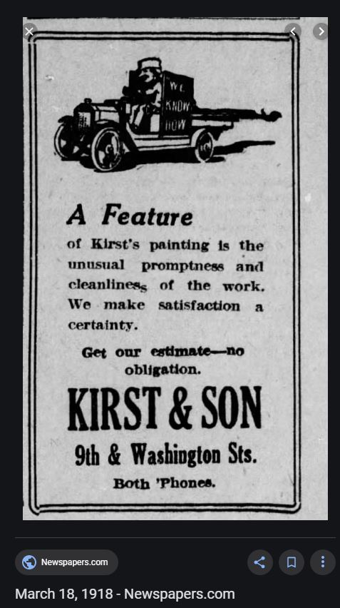 Kirst & Son, Reading PA,