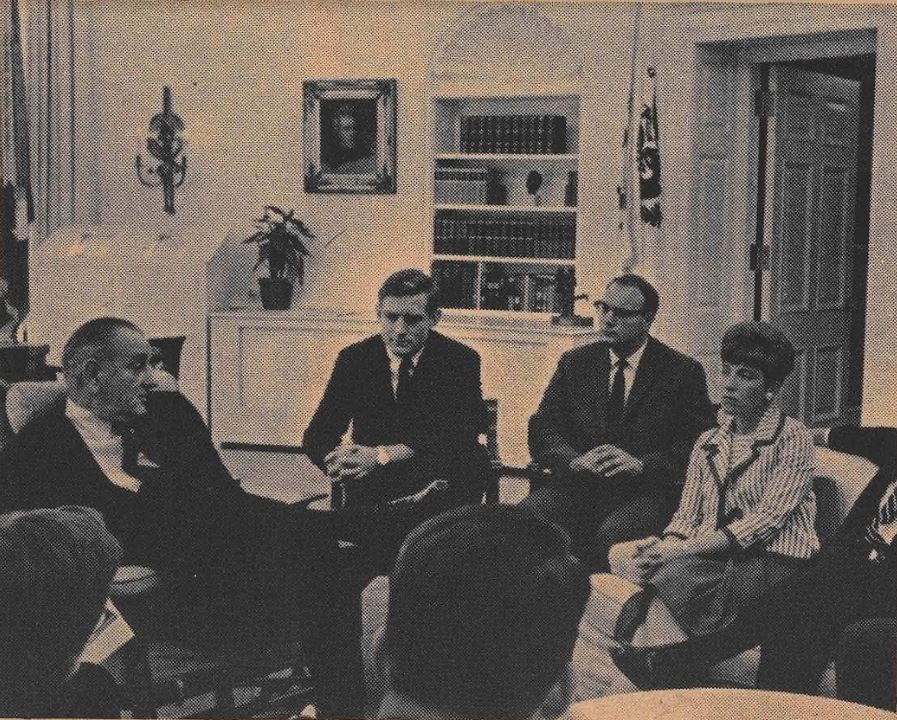 White House Fellows Michael Kirst President Lyndon Johnson Oval Office White House